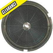 Cooker Hood Filter Black 196mm